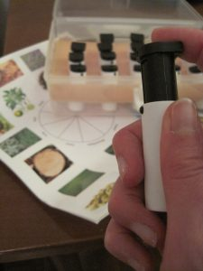 Contenu de l'Edu-Kit de l'Academy of Perfumery & Aromatics ®