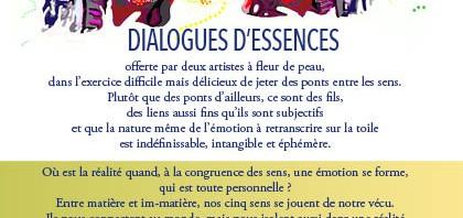 Dialogues d'Essences – Exposition de peintures, musiques et parfums, Paris (10ème), du 20 au 26 janvier 2014
