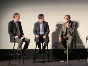 Le responsable de Jupiter Films interviewe Olivier  Roellinger et Roland Salesse