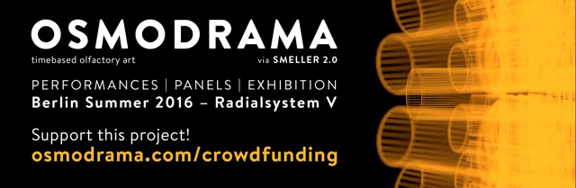 Campagne de crowdfunding pour Osmodrama avec Smeller 2.0