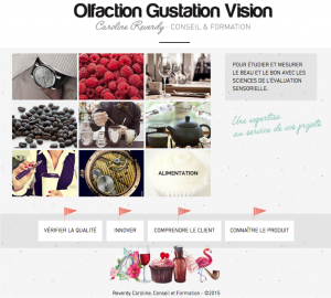 Olfaction Gustation Vision - Caroline Reverdy Conseil & Formation