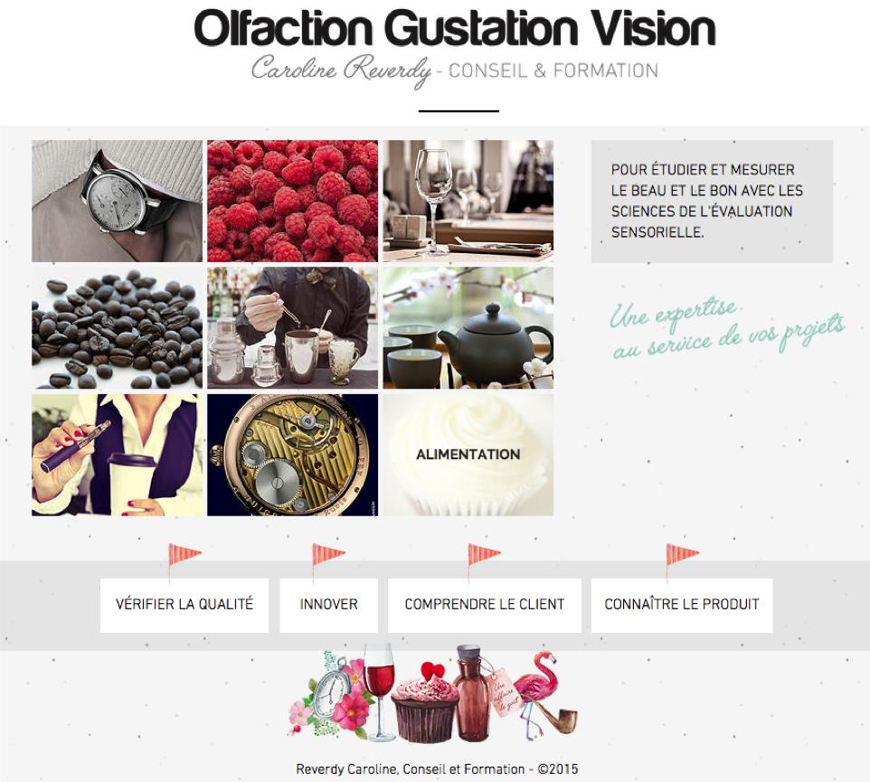 Olfaction Gustation Vision - Caroline Reverdy Conseil & Formation