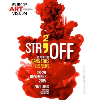 Affiche de l'exposition Deuxième Str'off