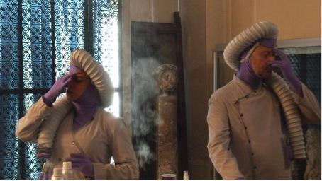Théâtre olfactif avec le Tir et la Lyre
